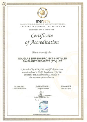 Planet Projects Certification
